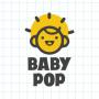 Biru Baja Garis Internet Logo-5